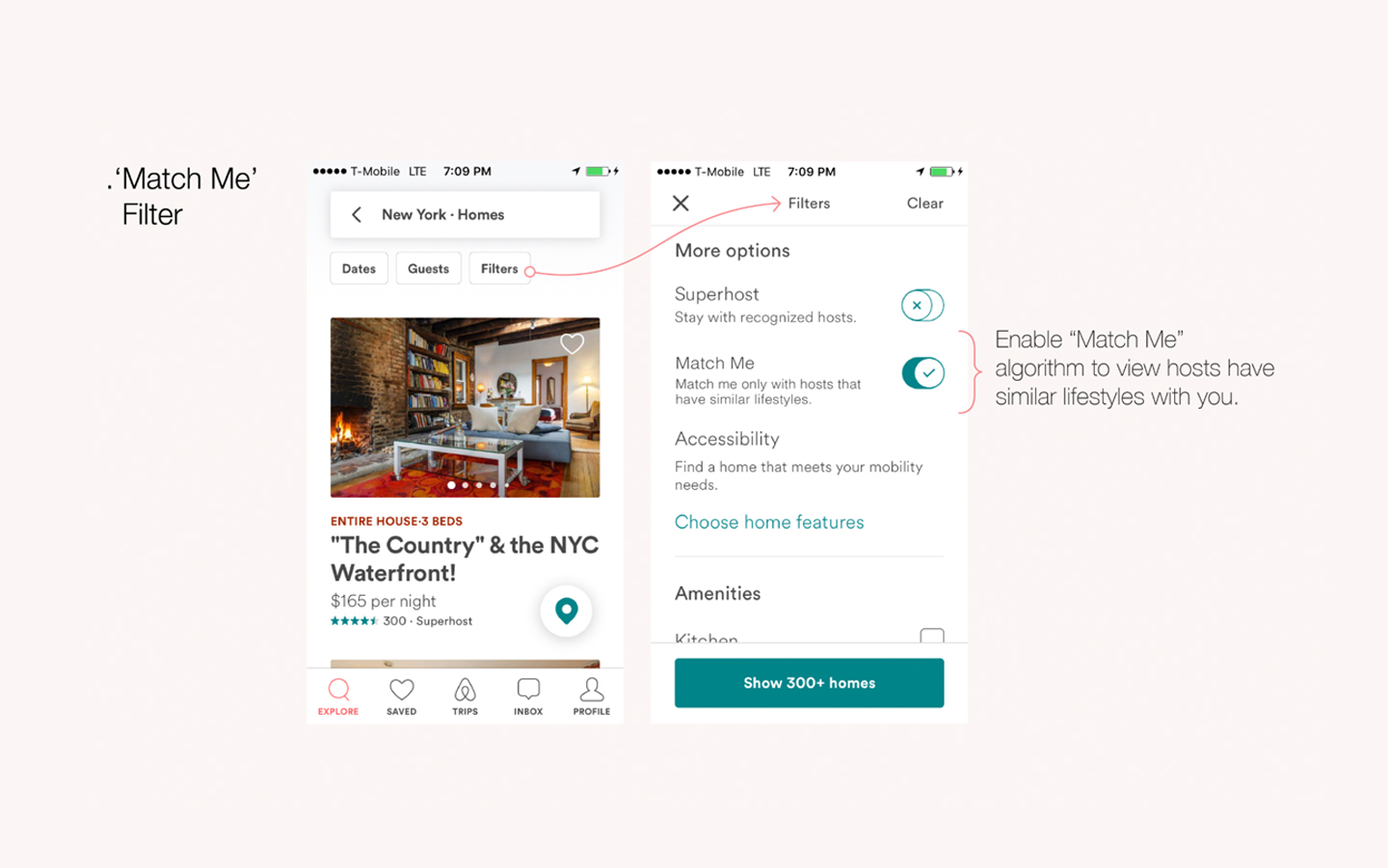 Redesign Challenge, Airbnb